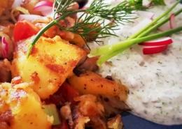 Kartoffelpfanne mit Kräuterquark - Dein Rezept auf Rezept-Buch.de