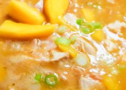 Hühnchen-Kokos-Mango-Suppe - Dein Rezept auf Rezept-Buch.de