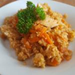Hähnchen-Möhrchen-Reis-Topf - Rezept auf Rezept-Buch.de