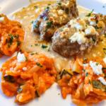 Bifteki mit Tomatenreis - Dein Rezept im Rezept-Buch.de