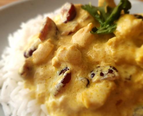 Hühnchen-Curry - Dein Rezept im Rezept-Buch.de