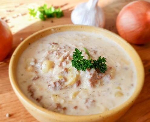 Käse-Lauch-Suppe - Dein Rezept auf Rezept-Buch.de