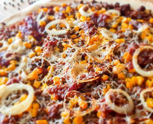Pizza Hackfleisch - Dein Rezept auf Rezept-Buch.de